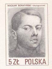 POLAND 1985 MINT Postcard Cp#908  Graphics - Designer of Polish stamps
