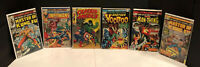 MARVEL SILVER AGE COMIC LOT •5 TOTAL• CAPTAIN AMERICA #110,VOODOO,INHUMANS MORE