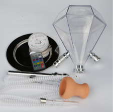 Acrylic Shisha Hookah Cachimba Shisha Bowl Water Pipe Smoking Waterpijp Sheesha