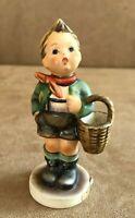 Hummel Village boy with basket Figurine Goebel Germany 51 vintage