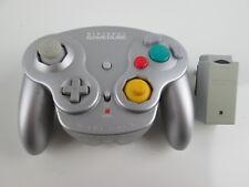 Nintendo Gamecube Wavebird Wireless Remote Controller w/ RECEIVER - Platinum