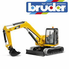 Bruder Cat Mini Excavator Digger Construction Toy Kids Children Model Scale 1:16