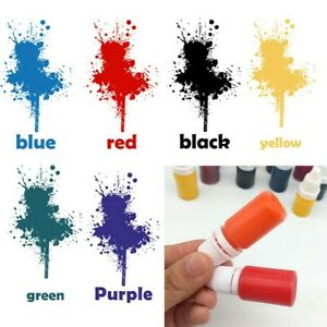 10ml Refill Ink Flash for Photosensitive Seal Stamp Self Inking Rubber Stamp