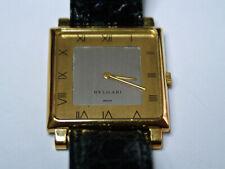Rare BVLGARI by Gerald Genta Men's 18K gold wind up wrist watch