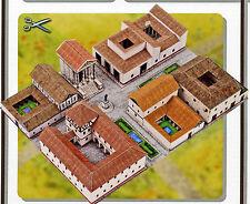 Römisches Dorf 1:160 für Spur N Bastelbogen Kartonmodell J.F. Schreiber