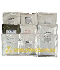 16 British Army MOD Ration Packs MRE Vestey Foods, 8 MAINS + 8 DESSERTS
