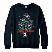 Fishing Christmas Jumper, Fishing Xmas Wear Festive Gift Adult & Kids Jumper Top