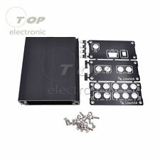 Aluminum Enclosure Black Cover case for LimeSDR Type-A or Type-B