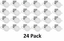 QPLUS 4 Inch Slim Dimmable LED Reccesed/Down Lighting (24 Pack/5000K Day Light)