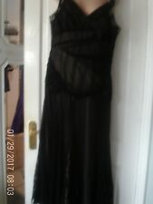BLACK SLEEVELESS DRESS BY PRINCIPLES, SIZE 14