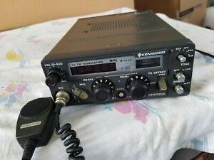 Kenwood TR-7400A 2 Meter FM Mobile/Base Transceiver