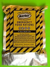 3 Meals 1 Day 1200 Calorie Emergency Survival Food Bar Doomsday Prepper BOB