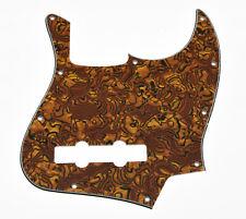 JB Jazz/J Bass Pick Guard Scratch Plate with Screws Tiger Stripe
