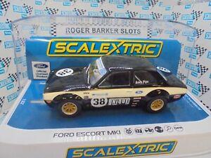 "Scalextric  C4237 Ford Escort Mk1 ""Andy Pipe Racing""   #38 DPR/lights BNIB"