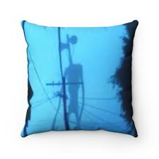 Siren Head horror creepypasta meme Spun Polyester Square Pillow