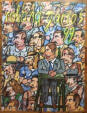 Antonio Segui affiche offset Roland Garros art abstrait abstraction Tennis Sport