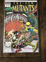 The New Mutants #70 Marvel Comics Group Direct Dec 1988