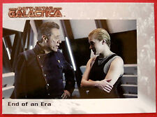 BATTLESTAR GALACTICA - Premiere Edition - Card #06 - End of an Era