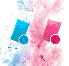 Gender Reveal Holi Color Powder - 1 pound Pink / 1 Pound Blue Color Run