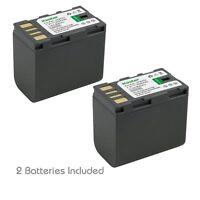 2x Kastar Battery for JVC BN-VF823 VF823U GZ-MG630SUS GR-D720EX GZ-MS130 Everio