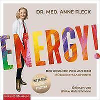 "DR. MED. ANNE FLECK ""ENERGY ! "",2 mp3-CDs,ungekürzt,neu,OVP,ohne Porto"