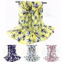 Fashion Women Winter Printed Long Soft Scarf Wrap Shawl Stole Pashmina Scarves R