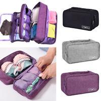 Waterprrof Travel Organizer Bag for Underwear Bra Socks Ties Scarves Storage Box