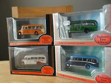 4 x EFE BEDFORD OB COACHES,MINT AND BOXED.