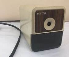 Vintage Electric Pencil Sharpener Boston Model 18 Made in USA Tested Loc. BLS