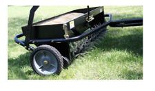 Tow Spreader Pull Behind Fertilizer Tractor Hopper Outdoor Garden Lawn Aerator