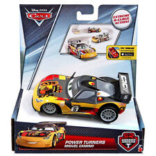 Disney Pixar Cars 1:43 Scale Power Turners MIGUEL CAMINO Pullback Vehicle (DHN02