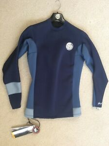 Rip Curl Aggrolite 1.5mm L/S Men's Wetsuit Jacket Size L WVE4IM Nav