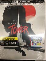 THE DARK TOWER STEELBOOK (4K UHD + Blu-Ray + Digital) Best Buy Exclusive NEW