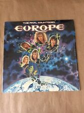 Europe, The Final Countdown, 1986, Epic, Embossed cover LP.FE40241, Vinyl.