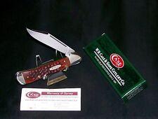 """Case XX 61549L CopperLock Knife Jigged Bone Handles 4-1/4"""" W/Packaging,Papers"""