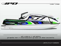 IPD Jet Ski Graphic Kit for Kawasaki 440 & 550 (KW Design)