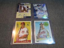 Baseball Card Lot - Autographs - Mancini - Hicks - Austin - Encarnacion