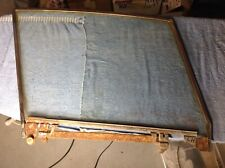 56-62 Chevy Corvette Lh Door Window Frame & Glass with Misc Other Parts