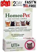 HomeoPet Feline Urinary Tract Infection Supplement for Cats and Dogs | Cat UTI+