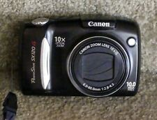 Canon PowerShot SX120 IS 10.0MP Digital Camera - Black