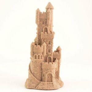 "Sand Castle Figurine Sculpture 478 7.5"" Tall Beach Wedding Table Decor Lake Home"