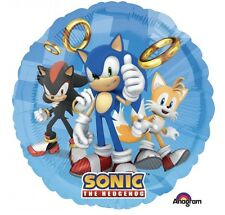 "Sonic The Hedgehog 18"" Anagram Balloon Birthday Party Decorations"