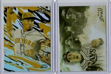2019 TOPPS FIRE INSERT LOT (2) FLAME THROWER / SMOKE & MIRRORS