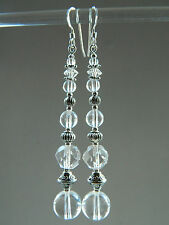 Crystal Silver Art Deco Costume Jewellery