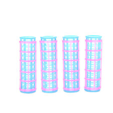 10 Pcs Creative Doll Hair Curler for s Dolls Pink and Blue Color CYNECEF