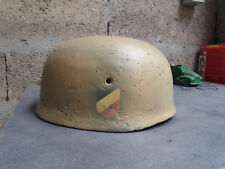 CASQUE ALLEMAND FALLSCHIRMJAGER - M38 - FALLSCHIRMJAGER - WW2 - GERMAN HELMET