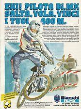 W5557 Bici BMX BIANCHI - Pubblicità 1984 - Advertising