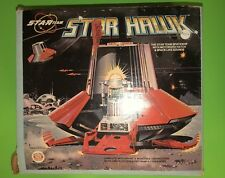 1970 Ideal Space Toy Star Team STAR HAWK SPACESHIP UFO with Zeroid Robot In Box!