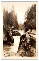 RPPC Green River Gorge, WA Real Photo Postcard