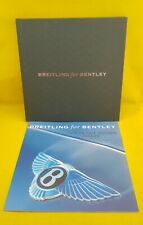 MONTRES / BREITLING FOR BENTLEY - CATALOGUE + PRIX - CHRONOGRAPHE